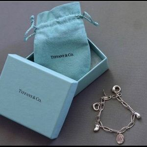 Never Worn Tiffany & Co. Charm Bracelet